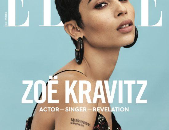 Zoë Kravitz for Elle January 2018