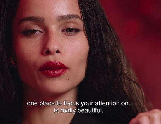 YSL x Zoë Kravitz Collection – Interview